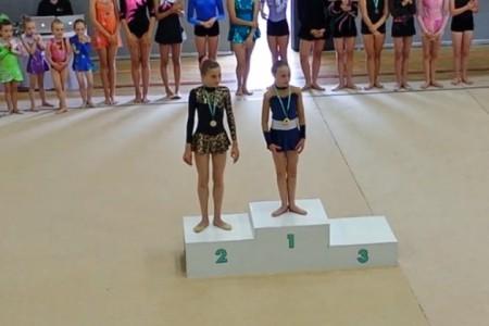 Gymnastics medal event (Image: T. Larkum)