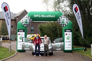 Fleet World MPG Marathon - Nissan Leaf