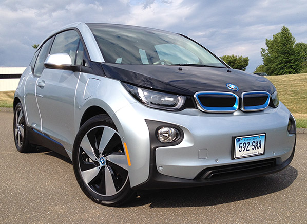 quick-and-quirky BMW i3 electric car (Image: Consumer Reports)