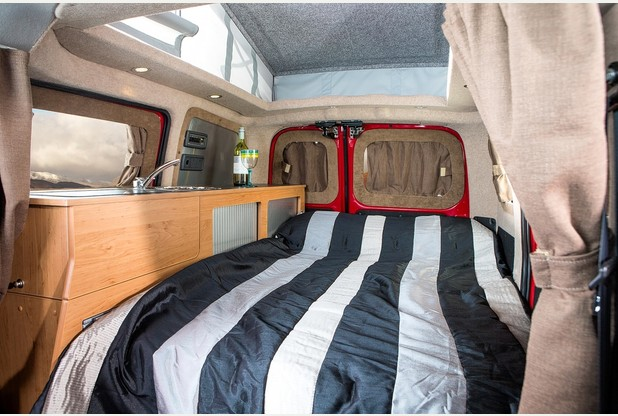 Nissan e-NV200 Electric Motorhome interior (Image: Hillside Leisure)