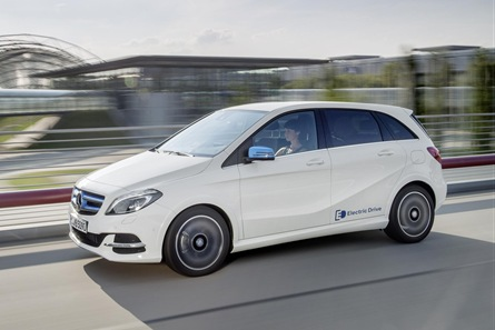Mercedes-Benz B-Class Electric (Image: Green Car Website)