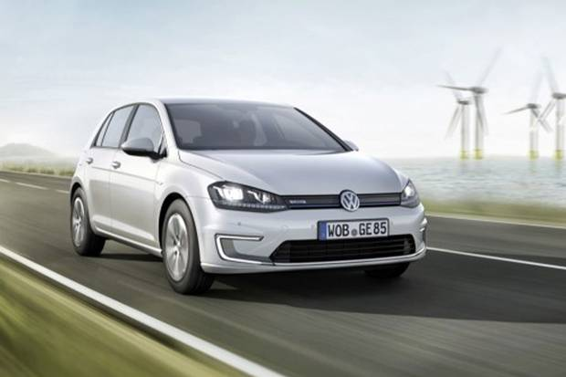 Sparky: Under the bonnet, there's a 113hp electric motor with a top speed of 87mph and a single-speed automatic gearbox (Image: LES)