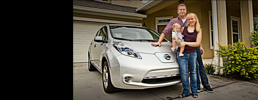 Nissan Leaf Family Image Nissan Electric Vehicle News By Fuel Included
