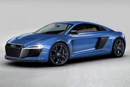 Audi R8 e-tron plug-in hybrid (Image: Poblete)