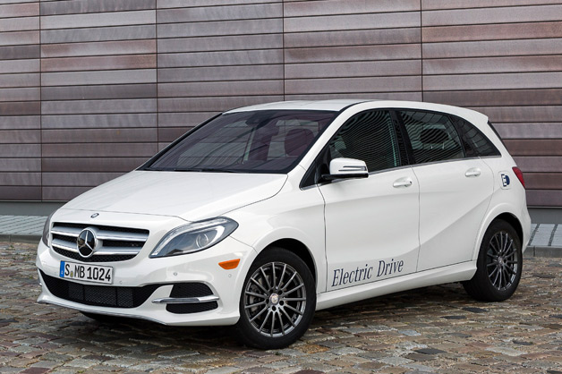 Mercedes-Benz B-Class Electric Drive (Image: Autoblog)
