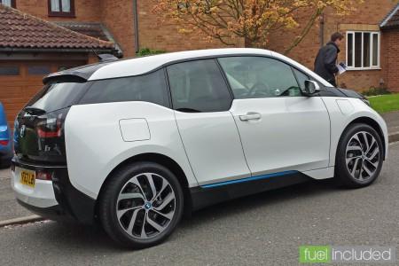 BMW i3 Test Drive (Image: T. Larkum)