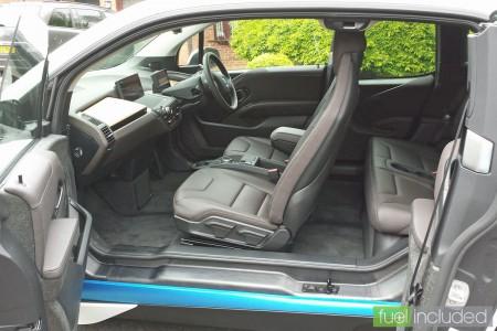 BMW i3 Test Drive: Interior (Image: T. Larkum)