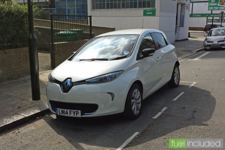 Renault ZOE in Highgate (Image: T. Larkum)