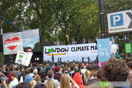 London Climate March - the Rally (Image: T. Larkum)
