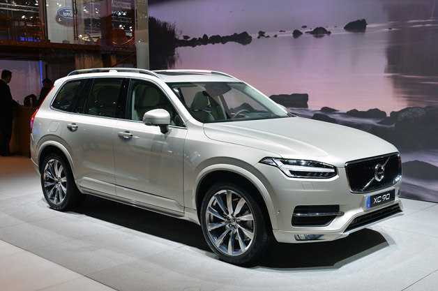 2015 Volvo XC90 at Paris Motor Show