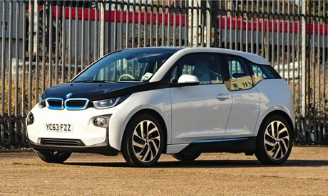 UK electric car sales surge in 2014