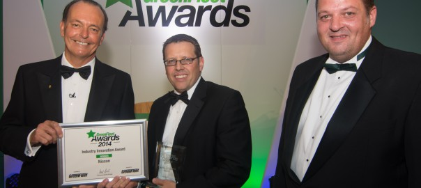 Double GreenFleet win for all-electric e-NV200