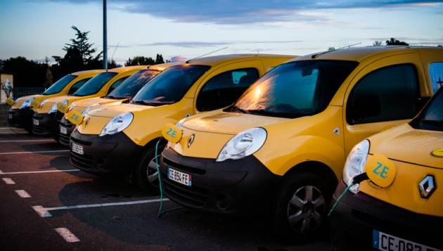 La Poste Renault Kangoo ZE (Image: Renault)