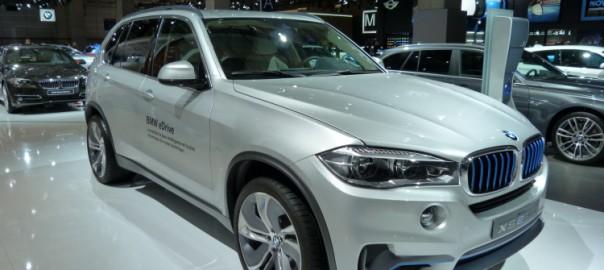BMW X5 eDrive at Paris Motor Show (Image: BimmerToday)