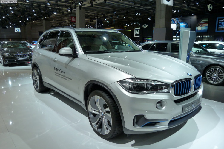BMW X5 eDrive at Paris Motor Show (Image: BimmerToday)