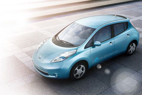 Nissan Leaf (Image: Nissan.co.uk)