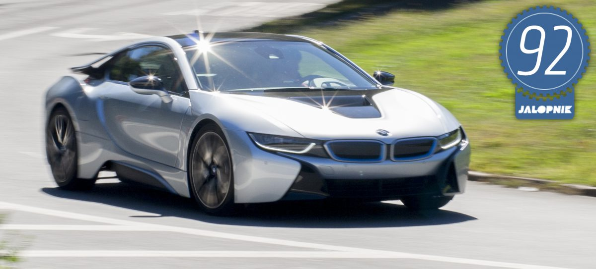 2015 BMW i8: Jalopnik Review (Imaged: Jalopnik)