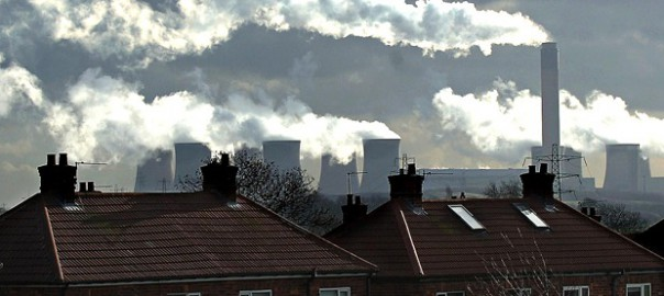 Pollution at Drax Coal Power Station near Selby (Image: J. Giles/PA)
