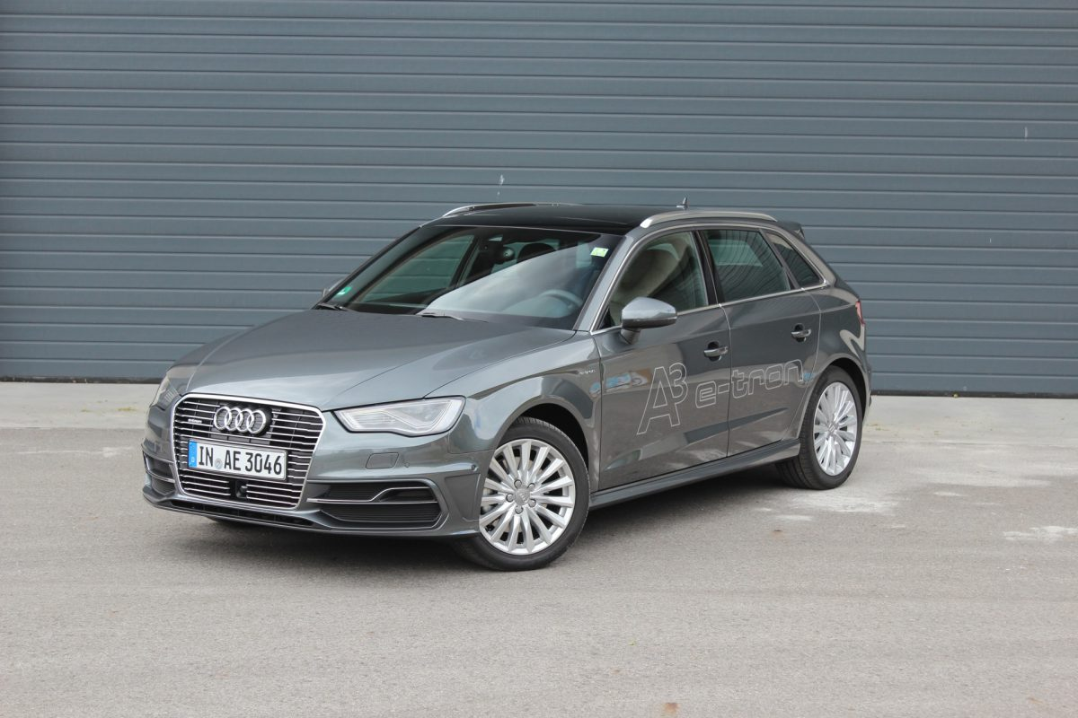 Audi A3 e-tron (Image: Green Car Reports)