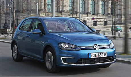 VW e-Golf (Image: Telegraph)