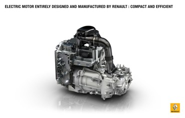 New Renault ZOE motor (Image: Renault)