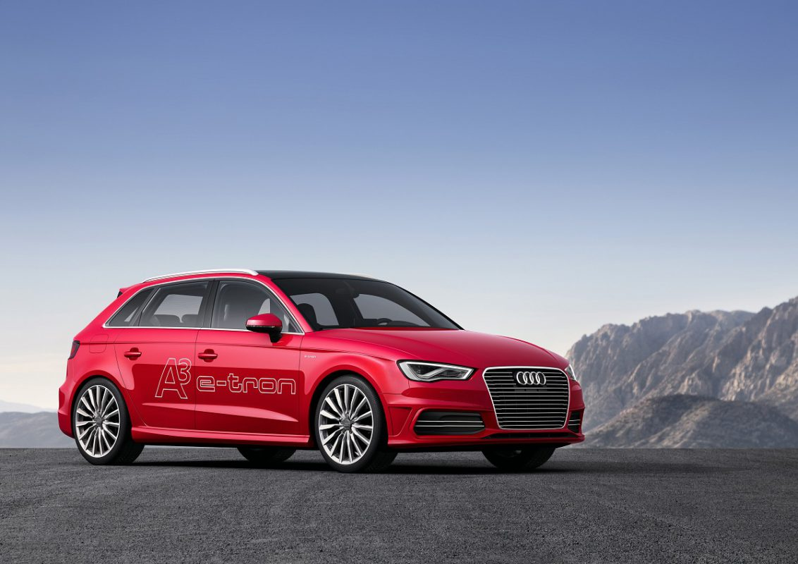 Audi A3 e-tron (Image: Audi)
