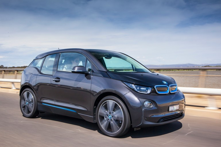 BMW i3: It zips off the mark, turns on a dime, provides good visibility and it's whisper quiet (Image: Gizmag)