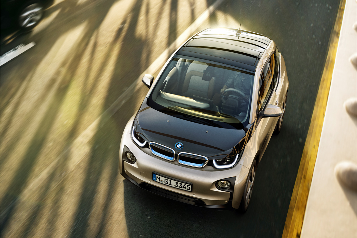 BMW i3 (Image: BMW Group)