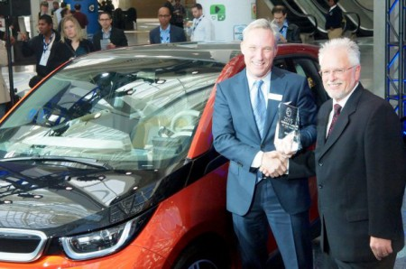 BMW i3 wins 2015 Green Car of the Year award (Image: Green Car Journal)