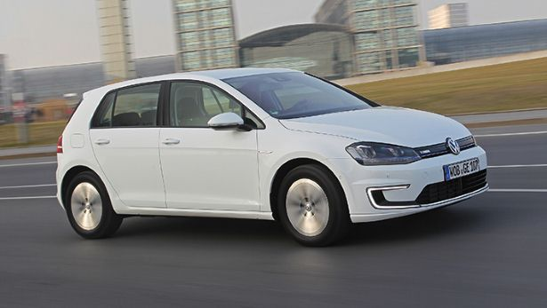 VW e-Golf (Image: Top Gear)