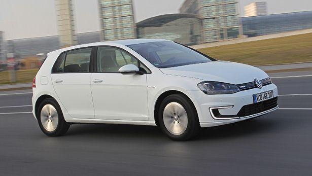 VW e-Golf (Image: Top Gear)