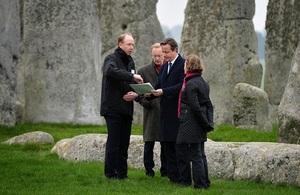 PM at Stonehenge (Image: Gov.uk)