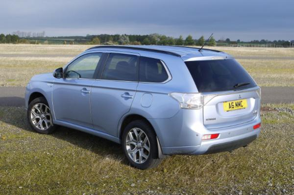 Mitsubishi Outlander PHEV (Image: Yorkshire Times)
