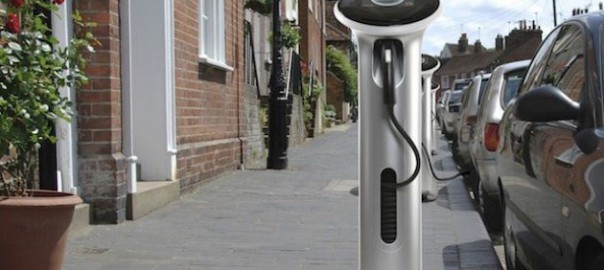 General Electric Watt Station Charge Post (Image: GE)