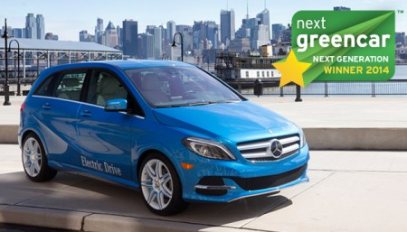 Mercedes-Benz B-Class Electric Drive (Image: NGC)