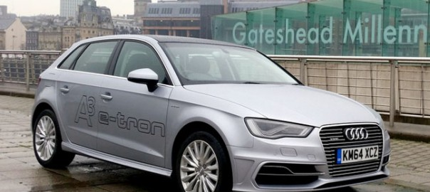 Audi A3 e-tron plug-in hybrid (Image: The Register)