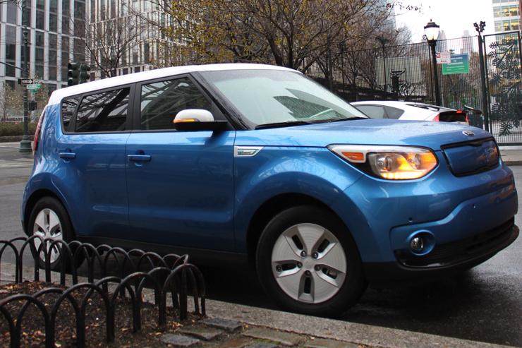 Kia Soul EV in New York City (Image: Oh Gizmo)