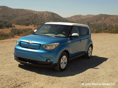 2015 kia soul ev plus review little feet a new angle on. Black Bedroom Furniture Sets. Home Design Ideas