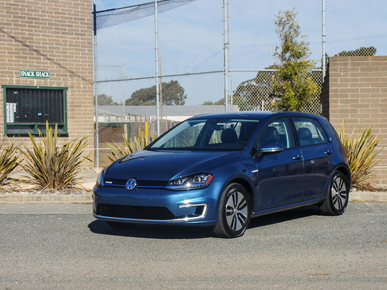 e-Golf is an attractive new electric from VW (Image: CNet)