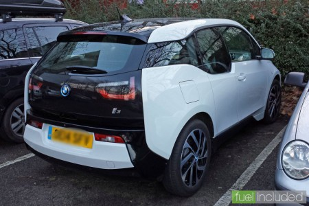 The first BMW i3 spotted in Northampton (Image: T. Larkum)