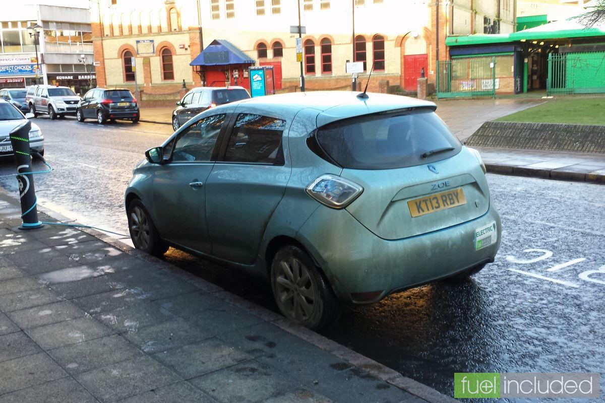 Slow Charging near Peterborough Passport Office (Image: T. Larkum)