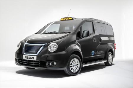Nissan e-NV200 Black Taxi Cab for London (Image: Nissan)