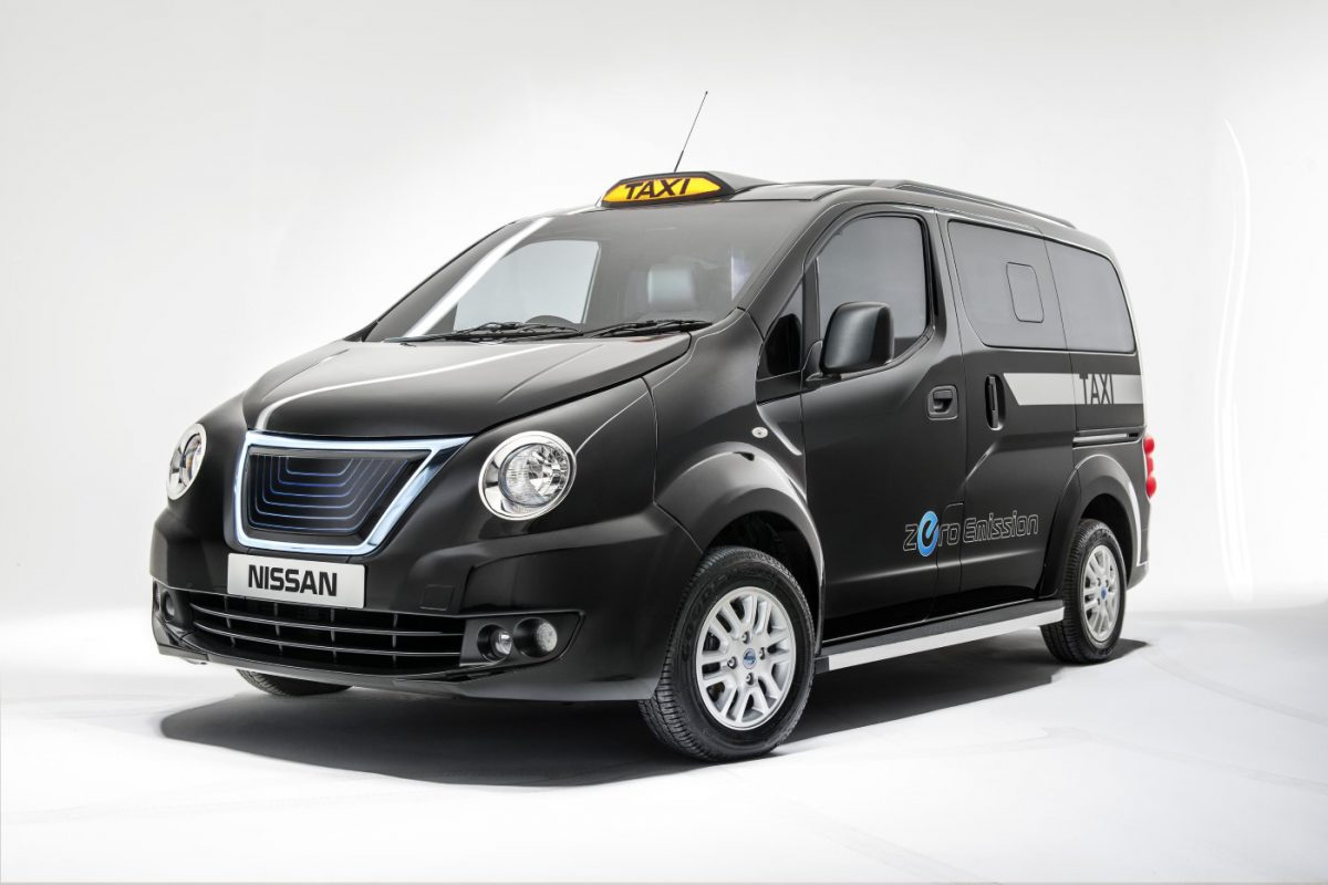 Nissan E Nv200 Black Taxi Cab For London Image