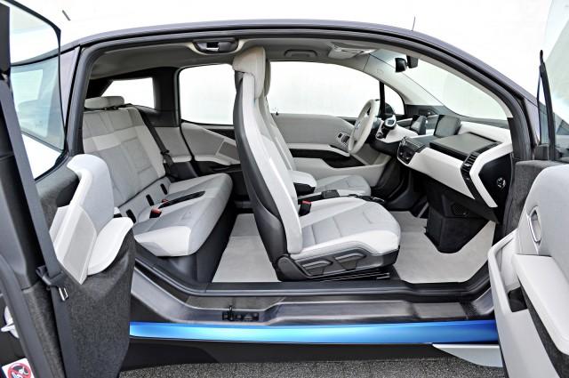 2015 BMW i3 Interior