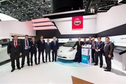 Power to spare - Nissan and Endesa sign pledge to promote Europe's first mass market vehicle-to-grid system (Image: Nissan)
