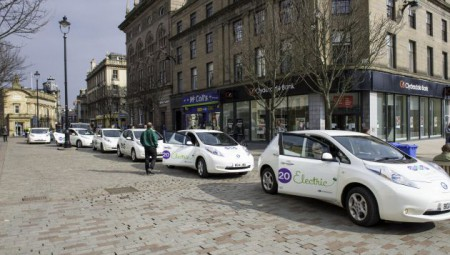 The zero emission fleet will help Dundee's air quality