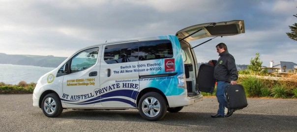 C&C Taxis's Nissan e-NV200 Combi