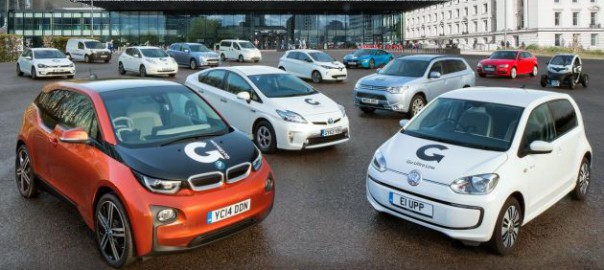 Ultra-low emission registrations up 386% on first quarter of 2014 (Image: OLEV)