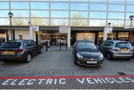 Businesses in Milton Keynes are being given the opportunity to test out electric cars