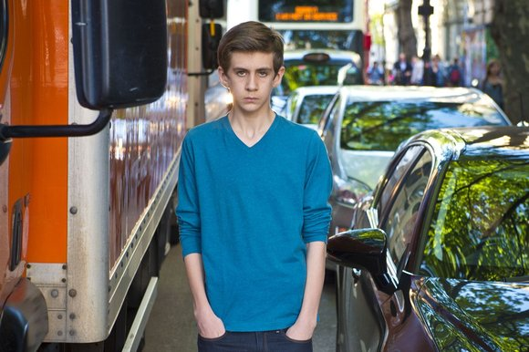 Will Cort, 13, who lives in central London, says he frequently finds it difficult to breathe (Image: F. Guidicini)